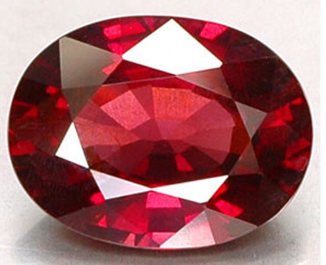 Ruby Gemstones<